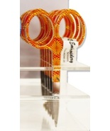 "Orange Sunburst Scissors 3.5"" Embroidery Scisso... - $5.00"