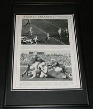 1939 Texas Longhorns vs Arkansas Football Framed 10x14 Poster Official R... - $32.36