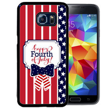 Fourth 4TH Of July Rubber Case For Samsung S5 S6 S7 S8 Plus Edge Note 5 4 3 - $13.95