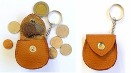 Small Coins Leather bag Keychain keyrings amzing Gift Free Shipping - $3.99