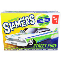 Skill 1 Snap Model Kit 1958 Plymouth Street Fury Slammers 1/25 Scale Model by... - $37.23