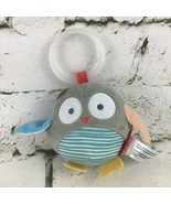 Skip Hop Owl Plush Chiming Rattle Stuffed Animal Soft Carseat Crib Toy  - $14.84