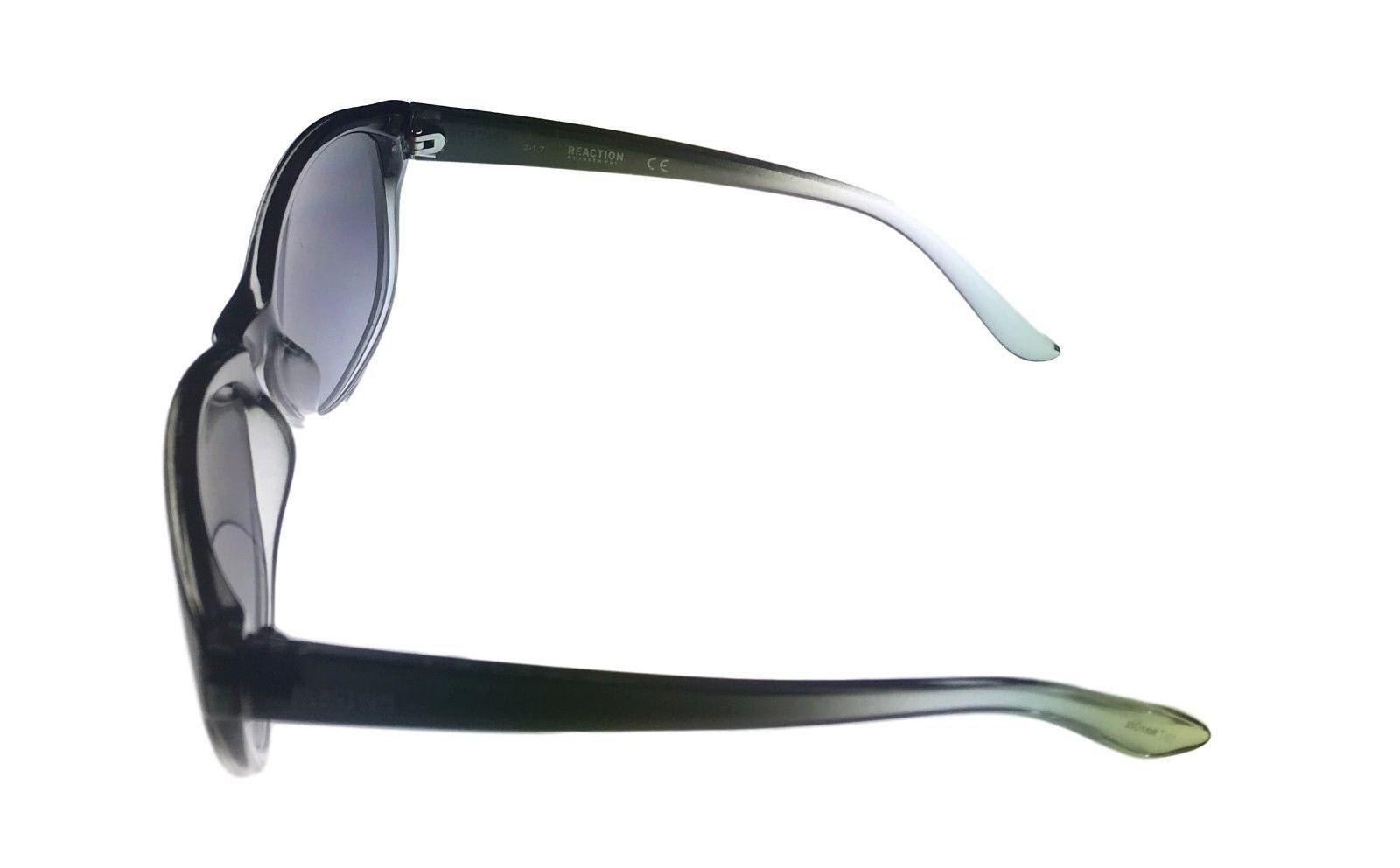 Kenneth Cole Reaction Mens Plastic Sunglass Black Fade, Gradient KC1290 5B image 3