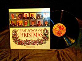 Great Songs Of Christmas and Favorite Christmas carols 5 Records AA-191758 Vinta image 3
