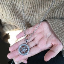 Compass Wheel Heavy Necklace >> Combin Shipping << (7221) - $4.90