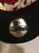 *NEW*  NEW ERA BALL CAP / HAT   SZ  7 1/4  NBA FINALS CHAMPIONS MIAMI  HEAT-RARE image 3
