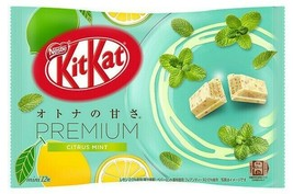 NEW!2020 Limited! NESTLE JAPAN Kitkat Premium Citrus Mint 12Bars chocolate - $9.65
