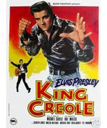 Best King Creole1958 Elvis Presley Vintage Style Musical Drama Movie Pos... - $11.50