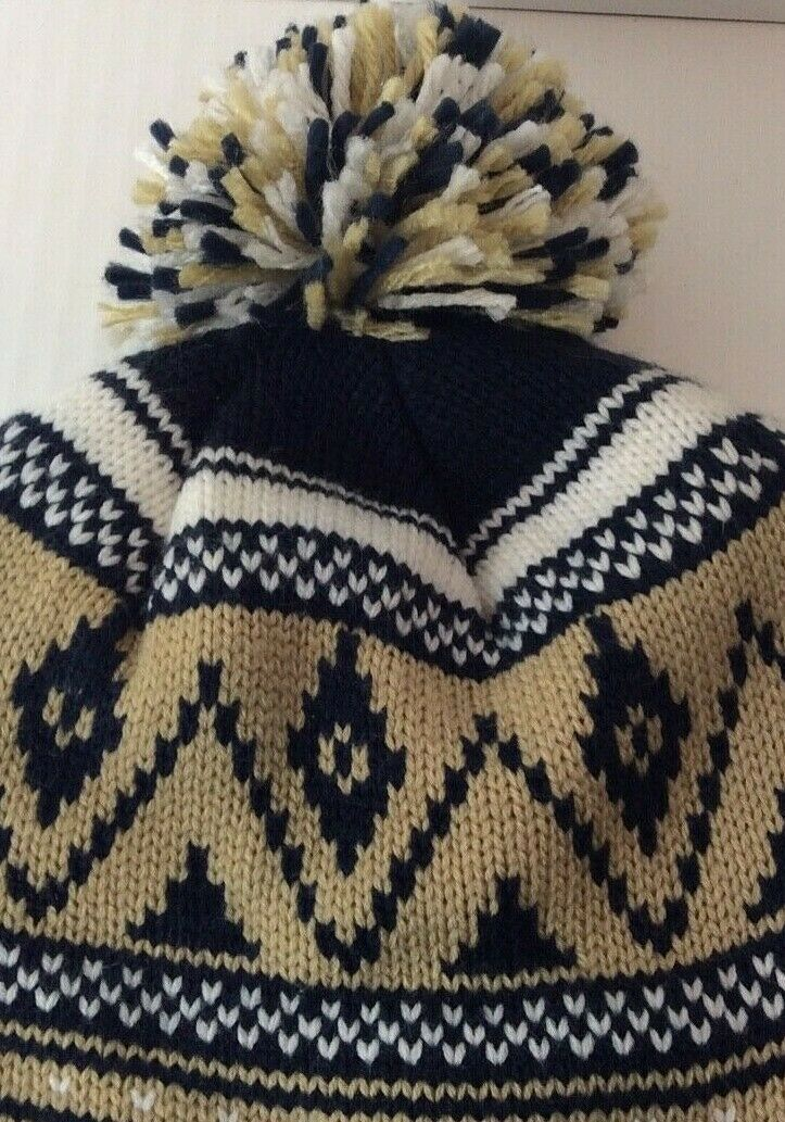 Notre Dame Adidas Pom Winter Hat One Size Fits All Embroidered ND Logo