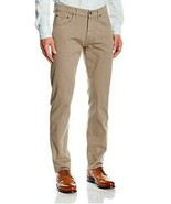 Gant Uomini Desert 1010209 Jeans Dritti Desert Marrone 38W 34L - $72.06