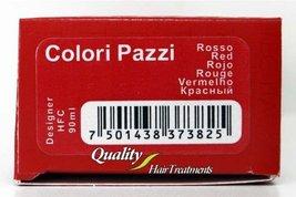 Tec Italy Designer Color, Colori Pazzi Red Haircolor 3 oz - $8.95