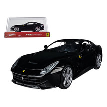 Ferrari F12 Berlinetta Black 1/24 Diecast Car Model by Hotwheels BCK03 - $30.44