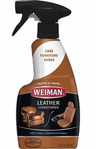 Weiman Leather Cleaner and Conditioner for Furniture - Cleans Conditions and ... - $20.71