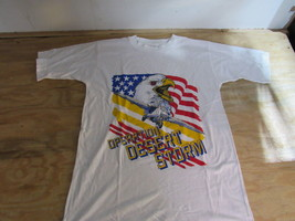 Screen Stars Proace Shirt Operation Desert Storm Made in Panama Size S NWOT - $25.60