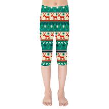 Ugly Christmas Sweater Kids Capri Leggings - $35.99 - $38.99