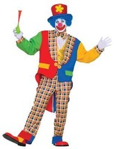 Clown On The Town Costume Adult Funny Comical Halloween Childs Party FM6... - £41.86 GBP