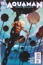 Aquaman Aqua Man June 2007 Sword of Atlantis # 51 DC Comic Book [Comic] Tad Will - $3.91