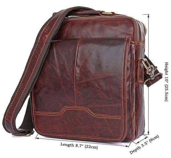 Sale, Men's Leather Satchel Bag, Messenger Bag, Leather Messenger, Shoulder Bag