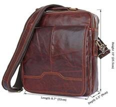 Sale, Men's Leather Satchel Bag, Messenger Bag, Leather Messenger, Shoulder Bag image 1