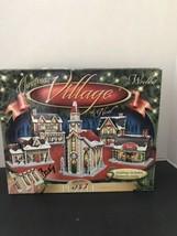 NEW Wrebbit 3D Christmas Village 3D Panel Puzzle - $28.84