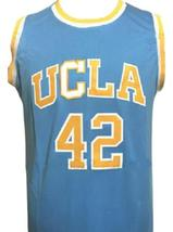 Kevin Love #42 College Basketball Jersey Sewn Blue Any Size image 4