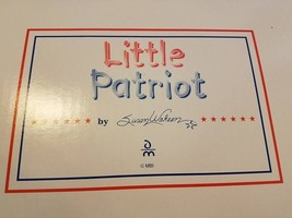 Danbury Mint Little Patriot By Susan Wakeem Red White And Blue Scooter In Box - $83.76