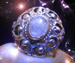 HAUNTE ANTIQUE RING MASTER WITCH'S MANY MOON CEREMONIES  SECRET OOAK MAG... - $9,037.77