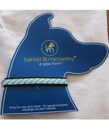 """Dog Collar Small  10"""" - 16""""  By Barker & Meowsky a paw firm Zig Zag design - $5.87"""