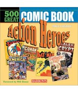 500 Great Comicbook Action Heroes Mike Conroy and Will Eisner - $8.33