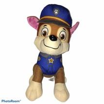 """2015 SPIN MASTER NICKELODEON PAW PATROL POLICE DOG CHASE PLUSH DOLL 10"""" - $18.69"""