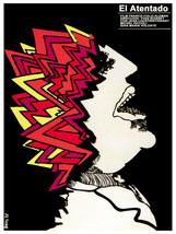 El Atentado. The Attack. Movie POSTER.Graphic Design. Wall Art Decoratio... - $10.89+