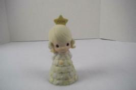 Precious Moments Bell 1994 Figurine You're As Pretty As A Christmas Tree... - $10.00