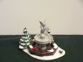 Winter Fountain Department Dept. 56 Snow Village - MINT  IN BOX - $16.83