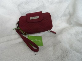 Vera Bradley Smart Phone wristlet 2.0 in Raisin NWT - $24.00