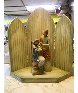 Willow Tree The Christmas Story background and Figurine By Susan Lordi NIB - $280.50