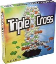 Triple Cross by Winning Moves shifting head-to-heat Strategy Game Ages 6+ - $25.00