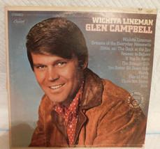 1968- Glen Campbell– Wichita Lineman -Vinyl, LP, Album,(Gold Record Award) - £10.89 GBP