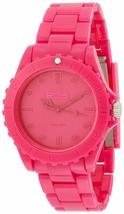 EOS New York Unisex Marksman Plastik Pink Quarz Analog Uhr #359SPNK Neu Ovp