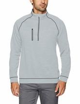 Puma Men's PWRWARM Heather 1/4 Zip Golf Pullover Sweater Top - NWT - $49.99