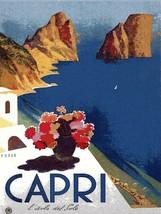 Decoration Poster.Home interior design print.Wall art.Capri Italy Naples.7151 - $10.89+