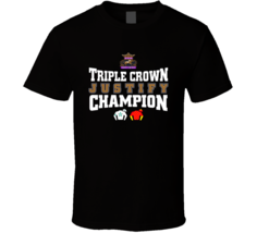Justify Triple Crown Champion T Shirt - $21.99+