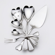 Stainless steel heart shape series cake spoon mixing spoon serving spoon... - €37,30 EUR