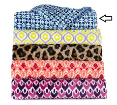Concierge Collection Elements Printed Plush Throw and Tote - $24.74