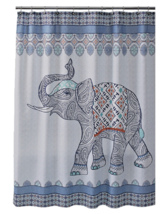 Better Homes and Gardens Global Bohemian Elephant Shower Curtain - $19.79