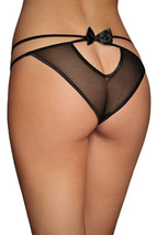 Sexy Sweet Bow Naughty Knicker-384u-one size fits most - $2.49