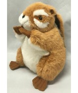 "9"" Smithsonian's Backyard Soundprints 1995 Eastern Chipmunk Plush Forest... - $9.85"