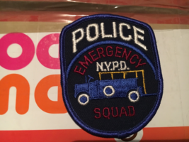 New York City Police Emergency Response Swat patch - $5.00