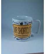 American Greetings Mr. Shortcut novelty stoneware coffee tea mug NMG 727 G - $9.73