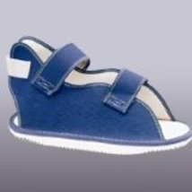 BSN Medical, Inc (43-101505) Cast Shoe Canvas Rocker Sole Med Navy Ea - $18.35