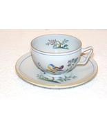 "SPODE FINE STONE ""QUEENS BIRD"" COFFEE TEA CUP & SAUCER SET #Y4973 GUC (G10) - $14.99"